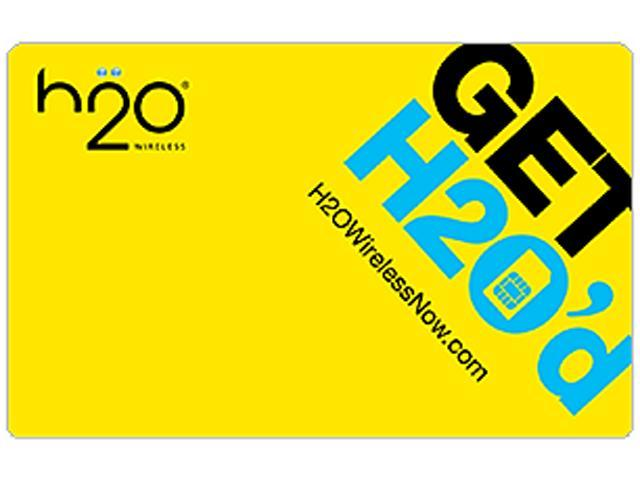 H2O Wireless $25 Prepaid Code - Pay As You Go (Email Delivery)