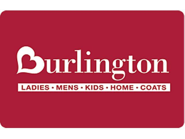 Burlington Coat Factory $50 Gift Card (Email Delivery)