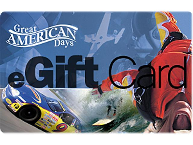 Great American Days $25 Gift Cards (Email Delivery)