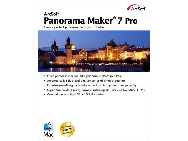 ArcSoft Panorama Maker 7 for Mac - Download