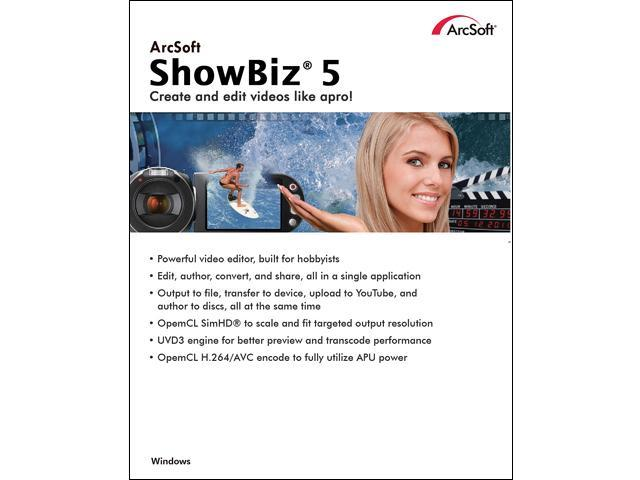 ArcSoft ShowBiz 5 - Download