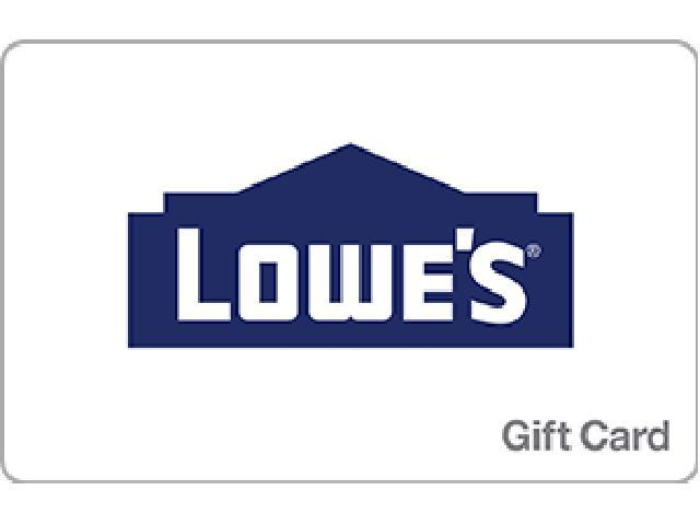 lowe's $50 gift card - digital delivery - newegg