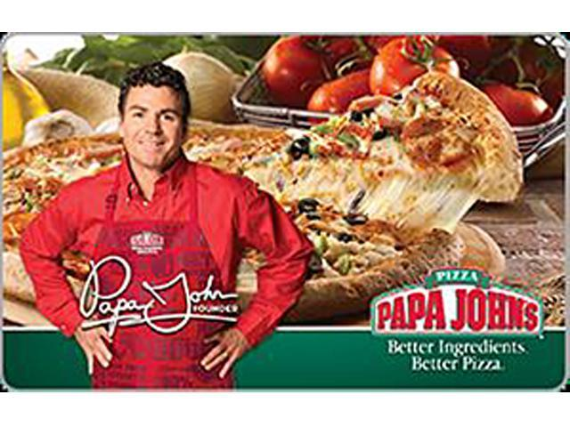 Papa John's $100 Gift Card (Email Delivery)