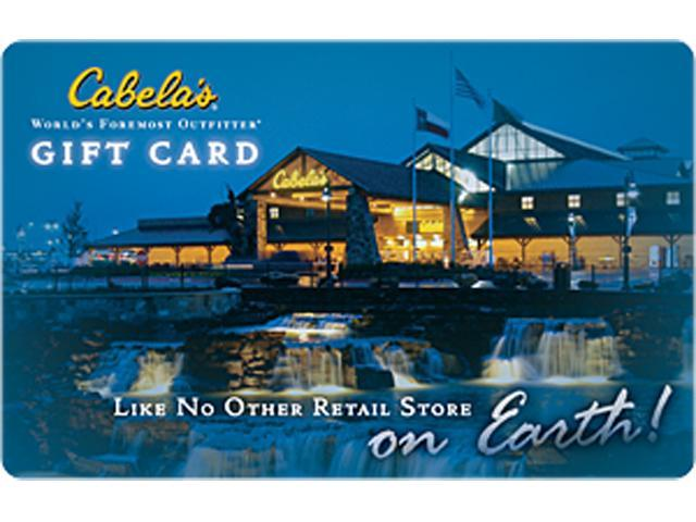 Cabela's $25 Gift Card (Email Delivery)