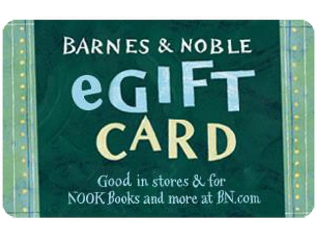 Barnes & Noble $10 Gift Card (Email Delivery)