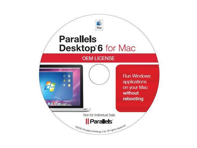 Parallels Desktop 6 for Mac 1 User for System Builders - OEM