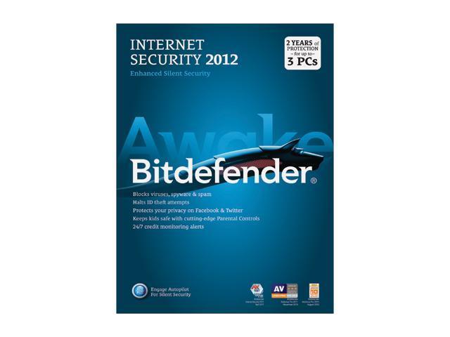 Bitdefender Internet Security 2012 - 3 User - 2 Years