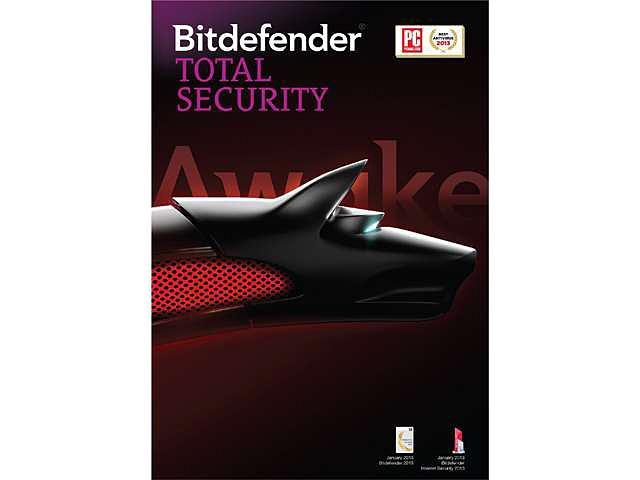 Bitdefender Total Security 2014 - Standard -  3 PCs / 1 Years - Download