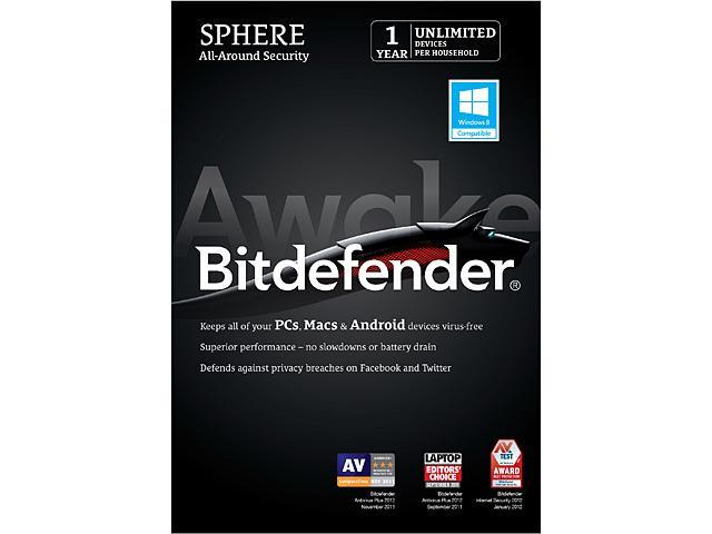 Bitdefender Sphere - 1 Year - Unlimited Devices - Download