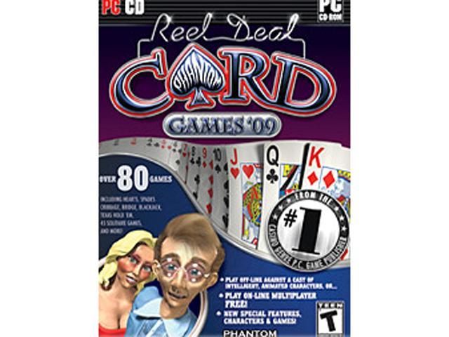 Reel Deal Card games 2009 PC Game