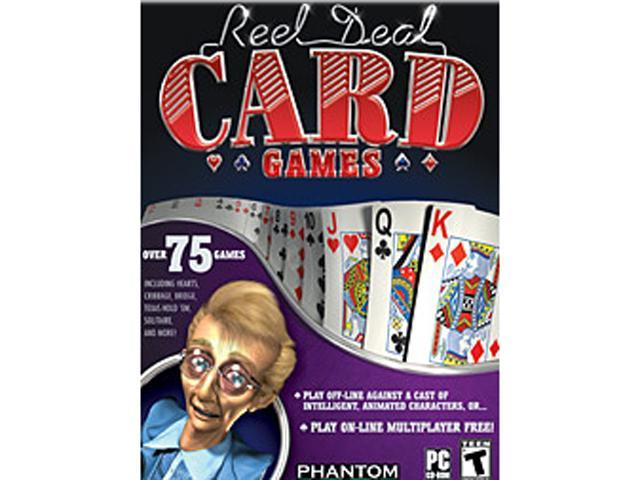 Reel Deal Card Games Jewel Case PC Game