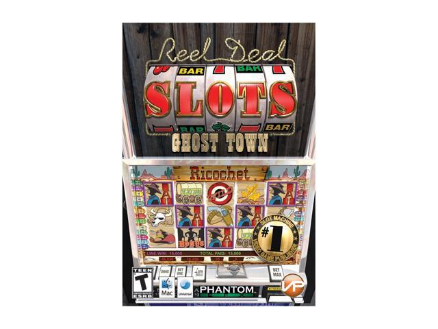 Reel Deal Slots Ghost Town Mac Stackpak Mac Game