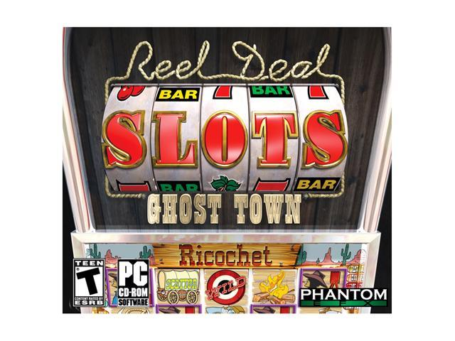 EFX Reel Deal Slots Ghost Town Jewel Case PC Game