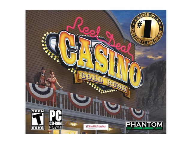 Reel Deal Casino Gold Rush Jewel Case PC Game