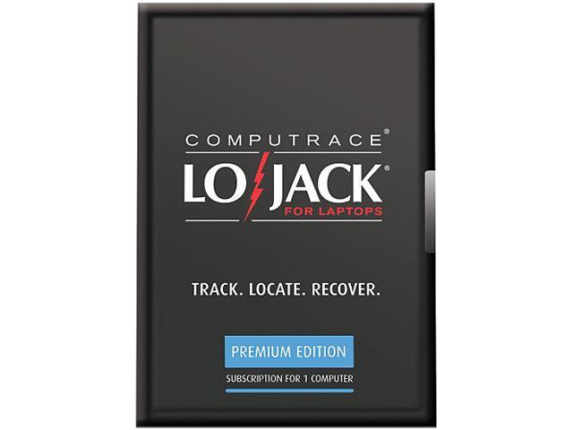 Absolute Software LoJack for Laptops Premium - 4 Year
