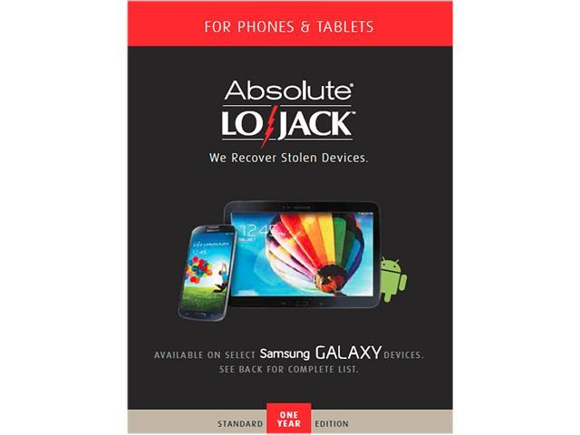 Absolute Software LoJack for Mobile Devices 1 Year