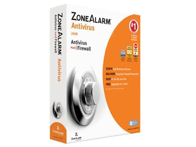 Zone Labs ZoneAlarm Antivirus 2009 Software - Newegg.com