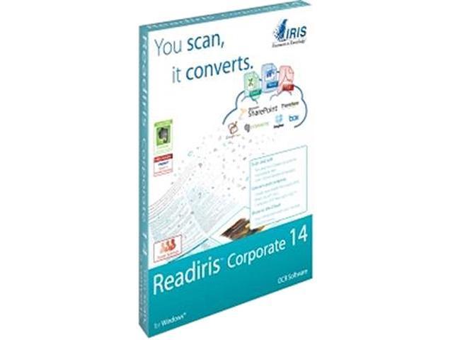 IRIS Readiris Corporate 14 OCR for PC - Download