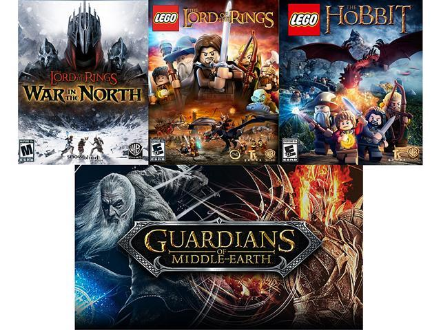 Lord of the Rings Power Pack (War in the North, Guardians of Middle-earth, LEGO LOTR, LEGO Hobbit) [Online Game Codes]
