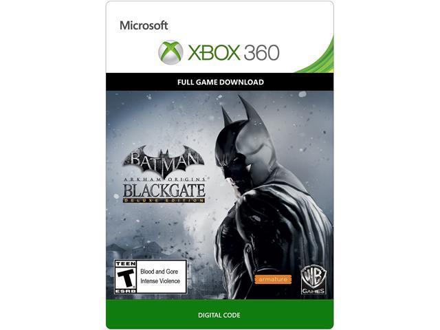 Batman: Arkham Origins Blackgate Deluxe XBOX 360 [Digital Code]