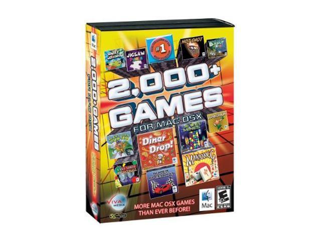 2000 GAMES - Mac Game