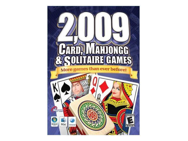 2,009 CARD, MAHJONGG & SOLITAIRE GAMES PC Game