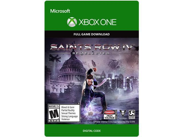 Saints Row IV: Re-Elected XBOX One [Digital Code]