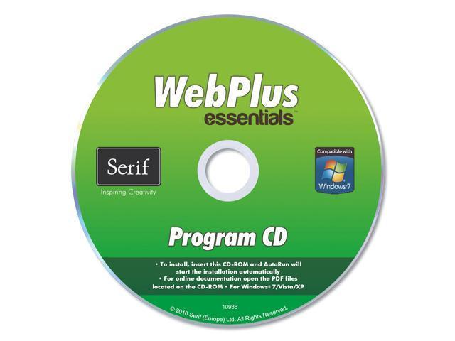 Serif WebPlus Essentials - 1 User for System Builders - OEM