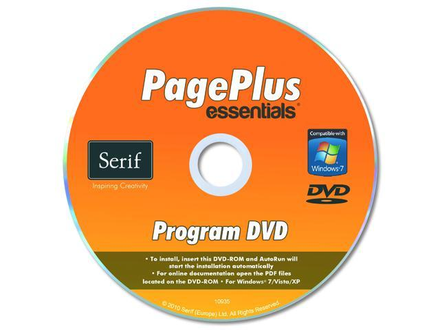 Serif PagePlus Essentials - 1 User for System Builders - OEM