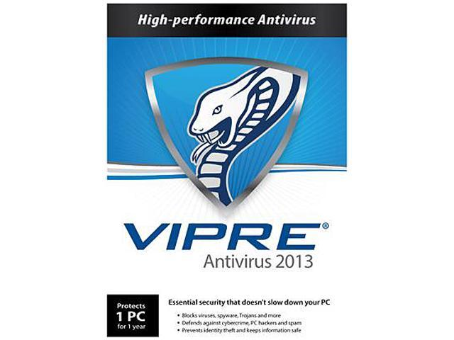 GFI VIPRE Antivirus 2013 - 1 PC - 1 Year