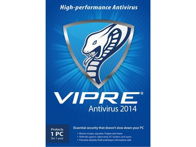 ThreatTrack Security VIPRE AntiVirus 2014 - 1 PC - 1 Year - Download