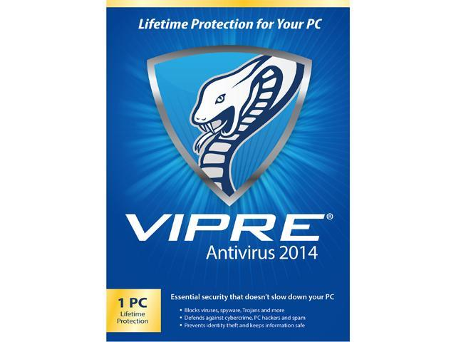 ThreatTrack Security VIPRE AntiVirus 2014 - 1 PC - PC Lifetime - Download