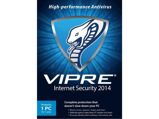 ThreatTrack Security VIPRE Internet Security 2014 - 1 PC - 1 Year - Download