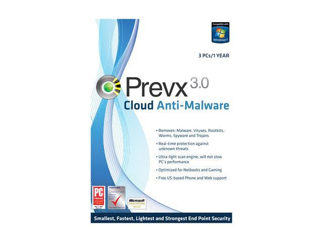 Prevx Cloud Anti-Malware 3.0 - 1 User
