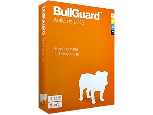 BullGuard Antivirus 2013 Retail CD mini Tuckin box (1 user/1year)