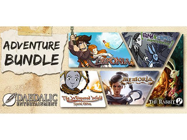 Daedalic Adventure Bundle [Online Game Code]