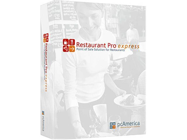 PC America PCA-LIC-PRO-RPE Restaurant Pro Express Version 12.5, Single License