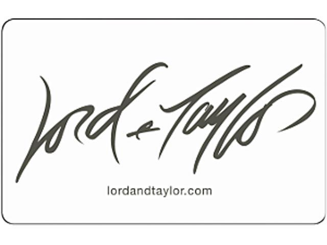 Lord & Taylor $100 Gift Card (Email Delivery)