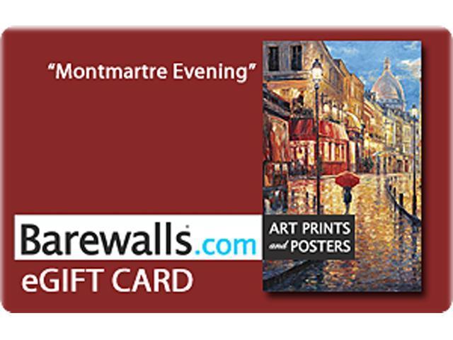 Barewalls $25 Gift Cards (Email Delivery)