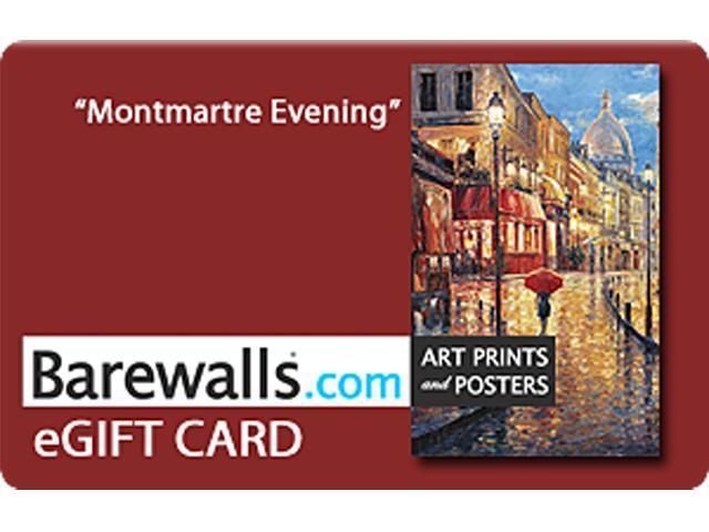 Barewalls $100 Gift Cards (Email Delivery)