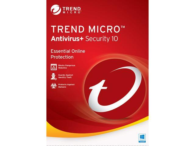 TREND MICRO Antivirus + Security 10 - 3 PCs