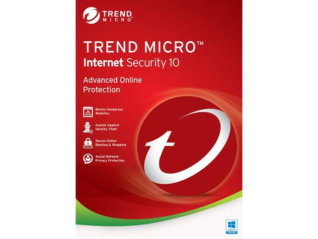 TREND MICRO Internet Security 10 - 3 PCs