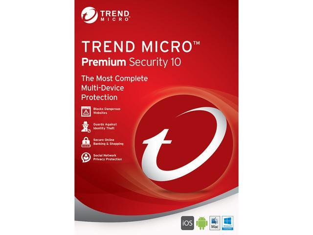 TREND MICRO Premium Security 10 - 5 PCs