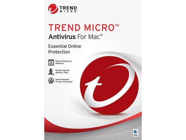 TREND MICRO Antivirus for Mac - 1 Mac
