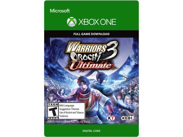 Warriors Orochi 3 Ultimate - Xbox One [Digital Code]