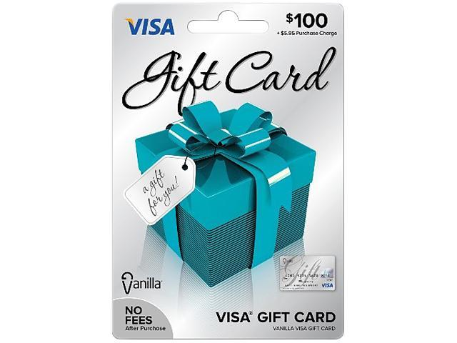 Visa $100 Gift Card - Newegg.com