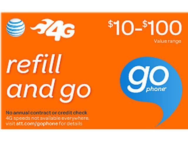 AT&T Wireless $50 Refill (Email Delivery)