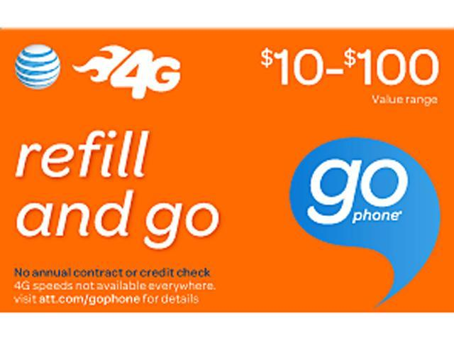 AT&T Wireless $100 Refill (Email Delivery)
