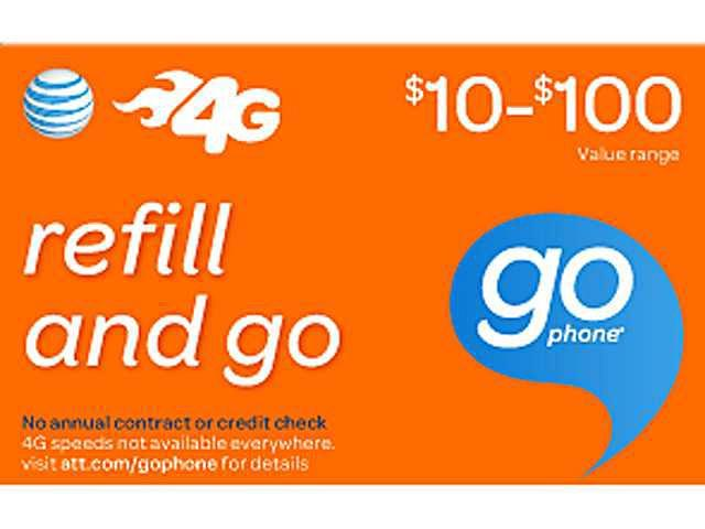 AT&T Wireless Prepaid Wireless $30 Refill Card (Email Delivery)