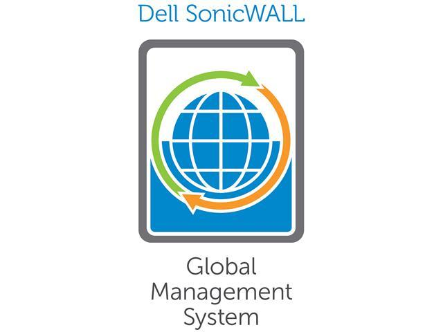 SonicWALL E-Class Universal Management Appliance (UMA) EM5000, 01-SSC-7665 with 10 Node GMS Reporting & Management Software License